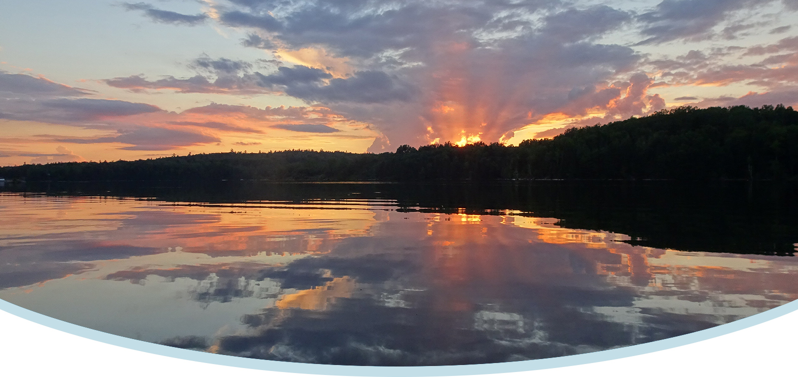 Sunset at Horwood Lake Lodge