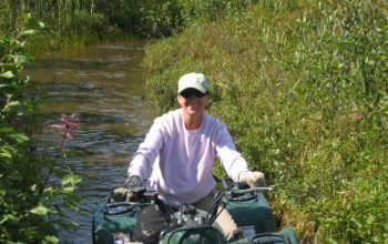 ATV fun at Horwood Lake Lodge