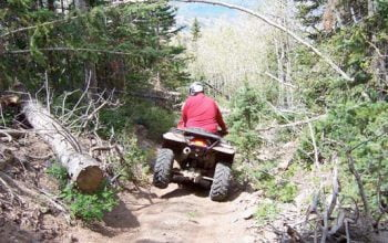 ATVing at Horwood Lake Lodge