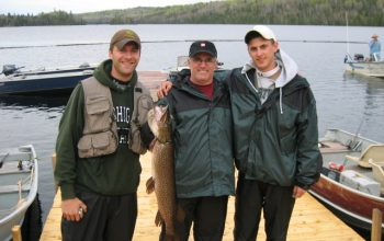 Fishing at Horwood Lake Lodge